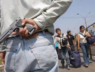 Ola de asaltos en Managua