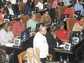 Bancada Sandinista en la Asamblea Nacional