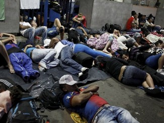 Cubanos en la frontera