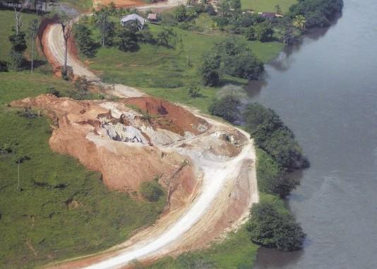 carretera paralela,rio san juan,nicaragua,