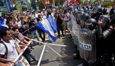 Resultado de imagen de imagenes de protesta en nicaragua