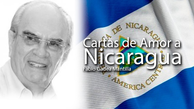 cartas de amor, nicaragua, fabio gadea