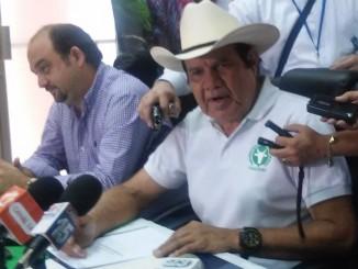 Salvador Castillo, Presidente de FAGANIC./Foto:Alfredo Salinas.