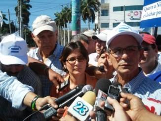 coalición nacional por la democracia,candidatos al cse,elecciones libres y transparentes,pli,eduardo montealegre,