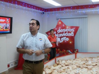 Rolando Sevilla, Gerente de Mercadeo de LOTO./Foto:Alfredo Salinas