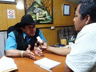 Luis Jiménez miembro de la Mesa Técnica de Transporte. Foto: Alexander Silva Vanegas/RC