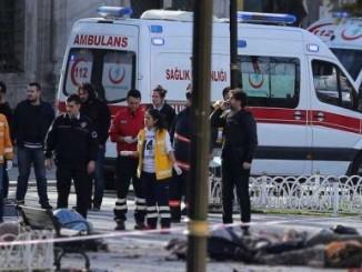 Atentado en Turquía, deja 10 muertos.