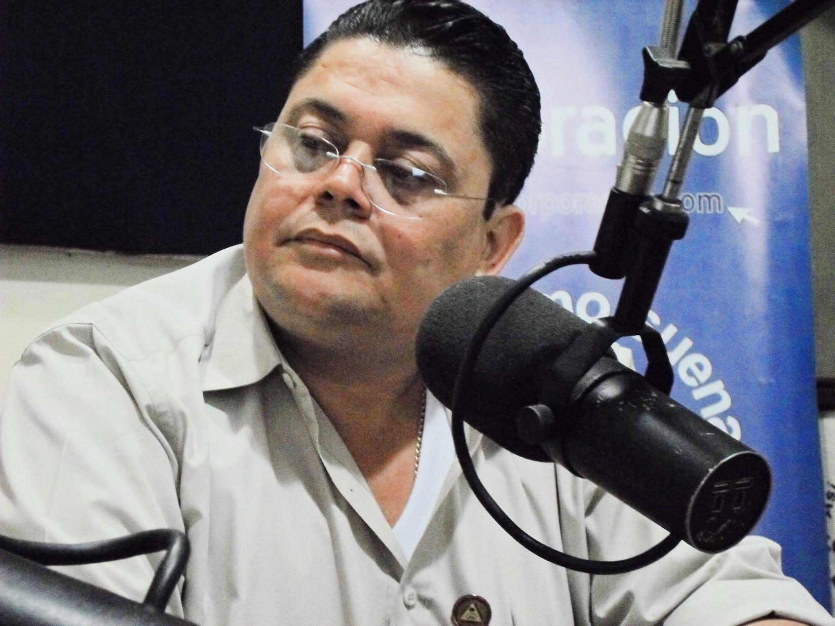 Vidal Almendarez Presidente de FENICOOTAXI_Foto_Alexander Silva Vanegas_Radio Corporacion_