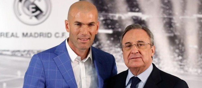 zidane,nuevo tecnico,real madrid,