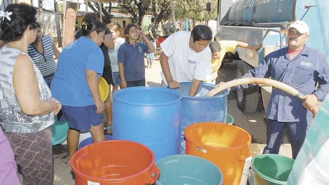 agua,clamor de nicaragüenses,sequía,fenómeno el niño,