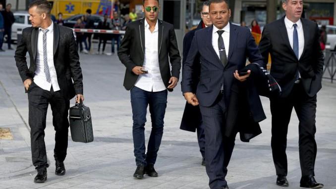 neymar,presunta estafa,justicia espanola,jugador barca