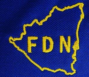 Dirigentes dan a conocer emblema del Partido FDN. Foto Alexander Silva Vanegas /Radio Corporación