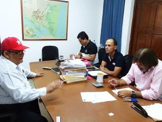 Comision Electoral del PLI recibe documentacion de postulantes. Foto Alexander Silva Vanegas/Radio Corporacion