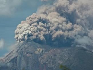 Guatemala,volcan,errupción,
