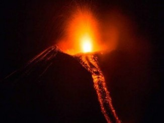 volcán momotombo,explosiones,gases y cenizas,atemoriza,