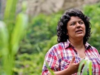 gobierno de honduras,asesinato de líder indígena,condena,