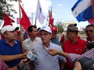 El Presidente Nacional del PLI, Eduardo Montealegre. Foto Alexander Silva Vanegas/Radio Corporacion