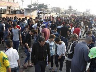Atentado,Bagdad,Irak,estadio de fútbol,41muertos,