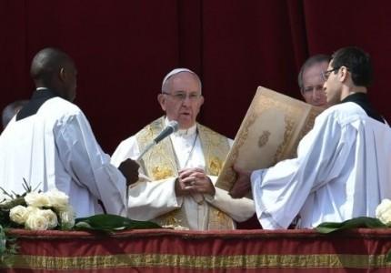 Papa Francisco,mensaje de Pascua,condena rechazo,migrantes,refugiados,diálogo en Venezuela,