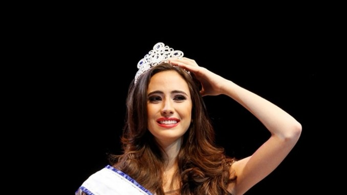 Marina Jacoby fue coronada Miss Nicaragua 2016,matagalpa