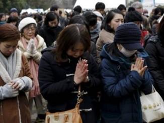 japón,conmemoración,víctimas de terremoto,tsunami,