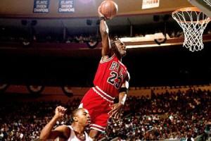 Jordan fue campeón de la NBA seis veces y fue elegido en cinco ocasiones como el jugador más valioso