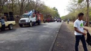 caravana,marcha contra el canal,día de la tierra,derogación de ley 840,