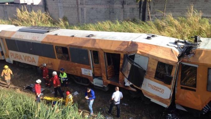 choque de trenes,costa rica,más de 100 heridos,
