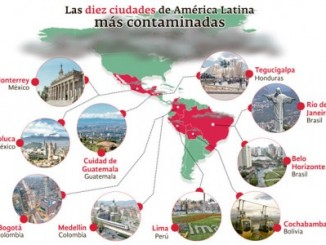 ciudades contaminadas,américa latina,el mundo,oms,