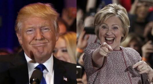 donald trump,hillary clinto,triunfo,primarias,nueva york,estados unidos,