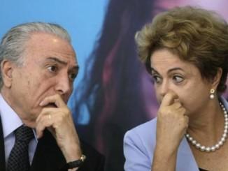 dilma rousseffe,disuelve gobierno,brasil,separación de su cargo,juicio político,