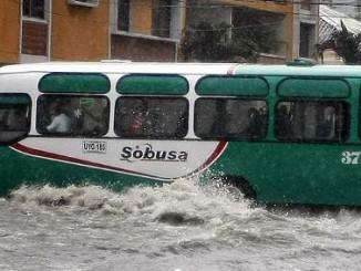 Barranquilla imajen de las calles anegadas en esta zona.
