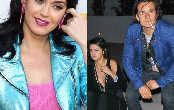 Katy Perry,Orlando Bloom,juntos,selena gómez,
