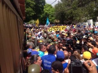 gobierno,nicolás maduro,represión,opositores,marcha,referendo revocatorio,venezuela,