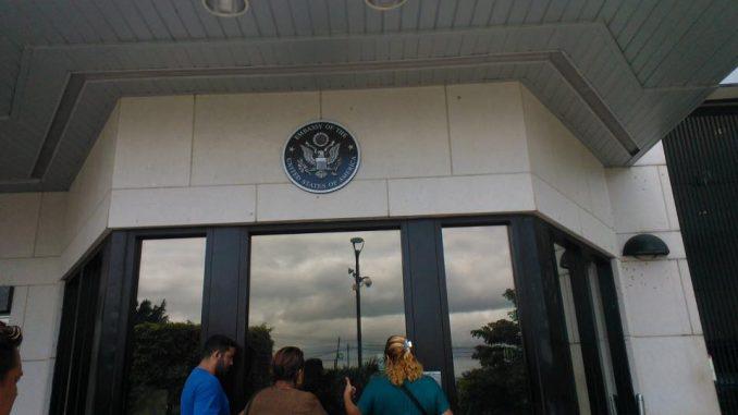 ciudadanos por la libertad,pronunciamiento,embajada de estados unidos,managua,