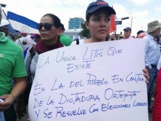 coalición nacional por la democracia,protesta,eduardo montealegre,corte suprema de justicia,resolución,