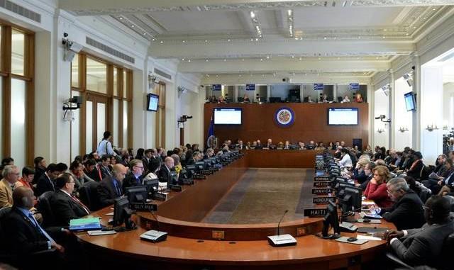 OEA,sesión extraordinaria,caso venezuela,luis almagro,