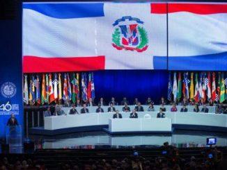 46 asamblea oea,santo domingo,venezuela,carta democrática,luis almagro,