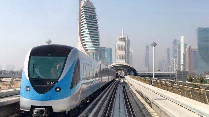 Ampliación,Metro,Dubai