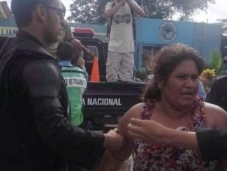 Francisca Ramírez,contra el canal,detención,nueva Guinea,extranjeros,