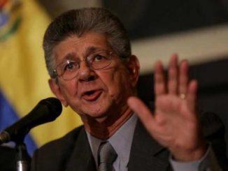 Ramos allup,gobierno,caerá solo,Venezuela,OEA,