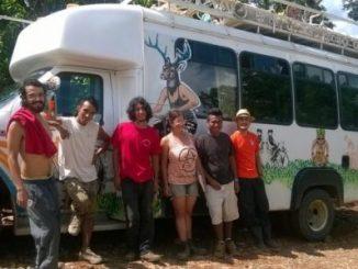 Extranjeros ambientalistas,Liberados,Expulsión,Represión