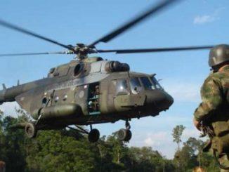 Ejercito desaparecido,Helicóptero,Rescate