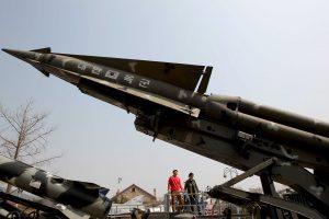 Corea del Norte logró hoy lanzar con relativo éxito su potente misil de medio alcance Musudan.