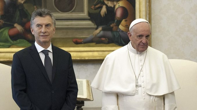 Vaticano,Presidente Macri,Papa Francisco