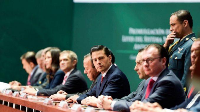 Peña Nieto,Ley Orgánica,Mexico
