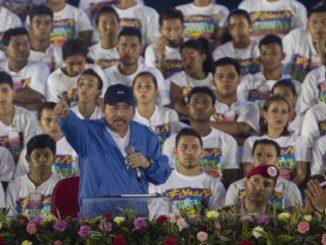 Ortega,acto partidario,19 de julio,OEA,Unión Europea,