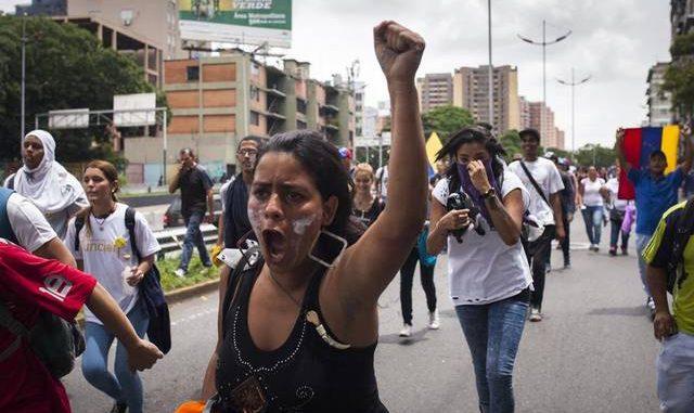 Venezuela,marcha,referendo,