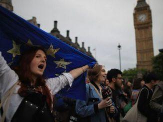 Salida Gran Bretaña,manifestaciones,Protestas