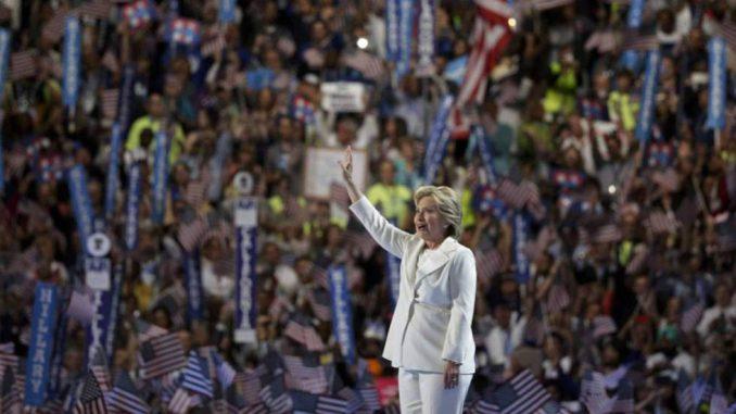 Actos Políticos,Convención Democrática,Elecciones EEUU 2016,Hillary Clinton